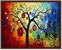 Картина по номерам Роспись на холсте Денежное дерево КН230 40*50 см