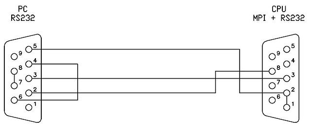 Схема кабеля представлена ниже