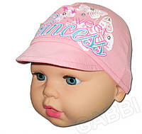 """Детская кепка для девочки   """"Принцесса"""" р.44см,48см"""