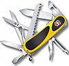 Швейцарский надежный складной нож Victorinox EVOGRIP S18, 24913.SC8 желтый