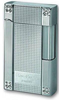Газовая удивительная зажигалка Pierre Cardin MFH-78B-02 серебристый