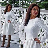 Белое платье хлопок
