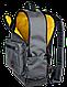 """Удивительный рюкзак для ноутбука 15"""", 23 л. Gud Classic SWG 009 графит, фото 3"""