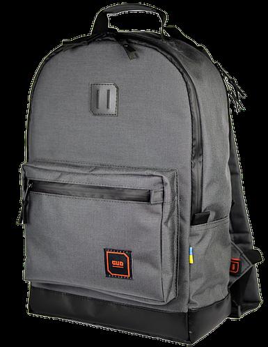 """Удивительный рюкзак для ноутбука 15"""", 23 л. Gud Classic SWG 009 графит"""