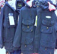 Детские демисезонные куртки -парки для мальчиков ,возраст 7-10 лет S-425