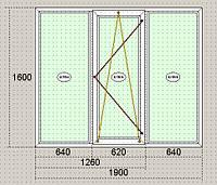 Окна металлопластиковые  Steko Стеко, трёхкамерный профиль, однокамерный стеклопакет, недорого, качественно