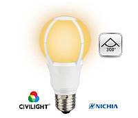 LED лампа E27 11W(806lm) CIVILIGHT (Сивилайт)  A60 K2F60T11