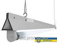 Светильник Luxled под 1 светодиодную лампу Т8 G13 1200 мм (треугольный)