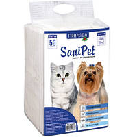 SaniPet гигиенические пеленки для животных 45х60см, 50шт