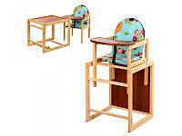 Стул трансформер Наталка Универсальный стульчик для кормления ( стул трансформер) Наталка.