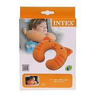 Надувная подушка-подголовник Intex 30х28х8 см