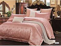 Постельное белье ARYA Pure Series жаккард 200x220 Layla розовый