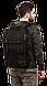 """Молодежный городской рюкзак для ноутбука 15,6"""", 23 л. Gud Ranger, 201 черный, фото 4"""