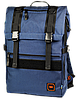 """Красивый городской рюкзак для ноутбука 15,6"""", 23 л. Gud Ranger, 203 темно синий"""