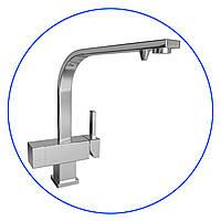 Трёхпозиционный комбинированный кухонный смеситель для холодной, горячей и фильтрованной воды, FXFCH15-3-С_K