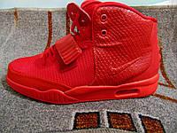 Мужские повседневные кроссовки Nike Air Yeezy 2 SP красные 40-46