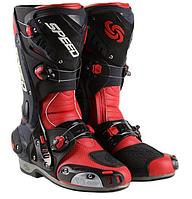Мотоботы ( Мото ботинки)  Probiker Speed Vortice Red