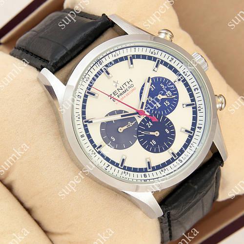 Классические наручные часы Zenith El Primero Silver White 1057-0002