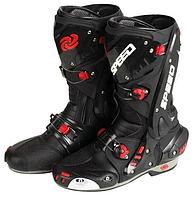 Мотоботы ( Мото ботинки)  Probiker Speed Vortice Black