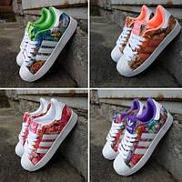 Женские кроссовки Adidas Originals Superstar(Адидас суперстар)