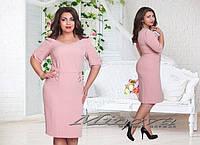 Платье нежно-розового цвета