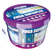 Затирка Polimin Fuga Superflex (цвет белый) 2кг
