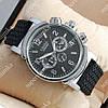 Модные наручные часы Слава Созвездие Mechanic Silver/Black 2637