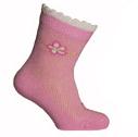 Носки детские летние розового цвета, р.14