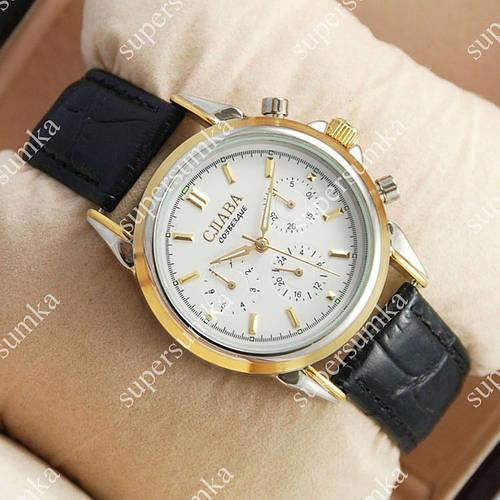 Классические наручные часы Слава Созвездие Mechanic Silver-gold/White-gold 2644
