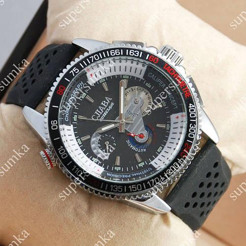 Аналоговые наручные часы Слава Созвездие Mechanic Silver/Black 2650