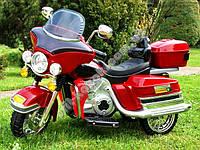 Большой трёхколёсный мотоцикл с резиновыми колёсами  PAA0060