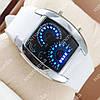 Необычные наручные часы Спидометр Led Street Racer White 2701