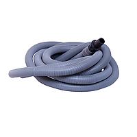 Сливной шланг 100 см (гофрированный пластик для стиральных машин)  (Sandi Plus - Китай)