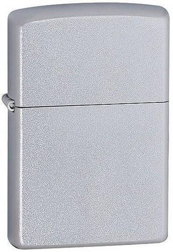 Классическая бензиновая зажигалка Zippo 207 серебристая