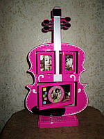 Оригинальный и необычный подарок - Фоторамка-часы Гитара