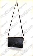 Женская стильная черная  сумочка клатч