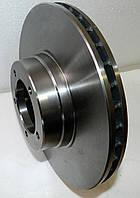 Тормозной диск для DAF 400 LDV Convoy (89-06). Новый. Передний. Вентилируемый.  ДАФ 400 ЛДВ Конвой.