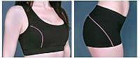 Короткие спортивные женские Шорты+топ (комплект))Zevana Jackdaw большой размер
