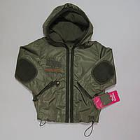 Куртка ветровка на флисе для мальчиков Беларусь 92-98р