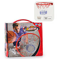 Баскетбольное кольцо  железное, сетка, крепление