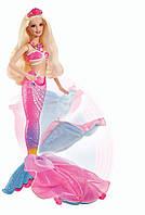 Кукла Барби 2в1 Русалочка и Принцесса Barbie