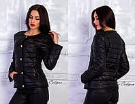 Женская демисезонная куртка шанель на 12 полос