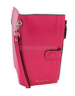 Женский кошелек Shaishi, книжечка, ярко розовый.