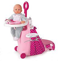 Игровой набор для кормления и купания пупса Smoby Hello Kitty 24268