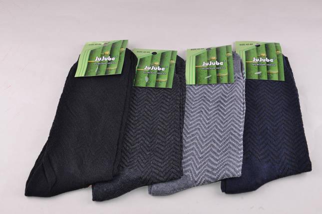 Мужские носки с узором 3 размера (Aрт. F507B/1), фото 2