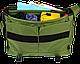 """Комфортная сумка-мессенджер для ноутбука 13 """", 14,5 л. Gud Messenger 002-1 оливковая, фото 3"""