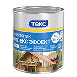 ТЕКС Антисептик-лазурь по дереву Биотекс Профи, 3л