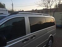 Рейлинги Хром (метал. крепл) Mercedes Vito 639