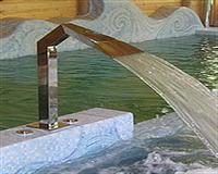 """Водопад """"Гусак"""" полированный(профильная труба 80х80мм)"""