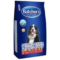 Сухой корм для собак Butcher`s (Бутчерс Дог), говядина  3кг